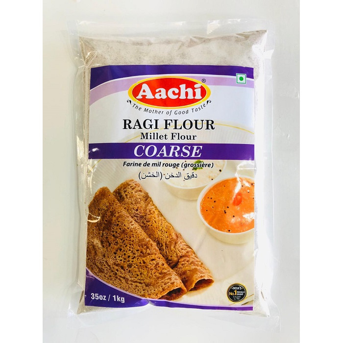 AACHI Ragi/Nachni Flour Coarse (1 Kg)