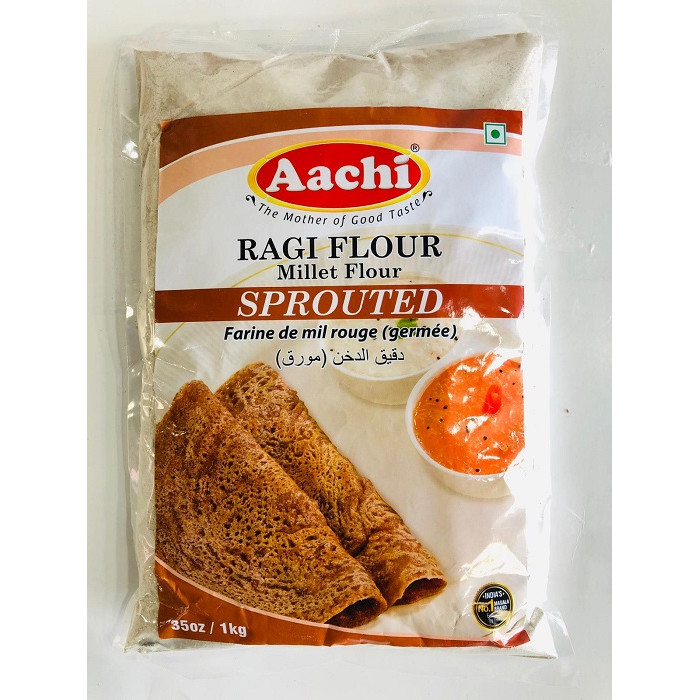 AACHI Ragi/Nachni Flour Sprouted (1 Kg)