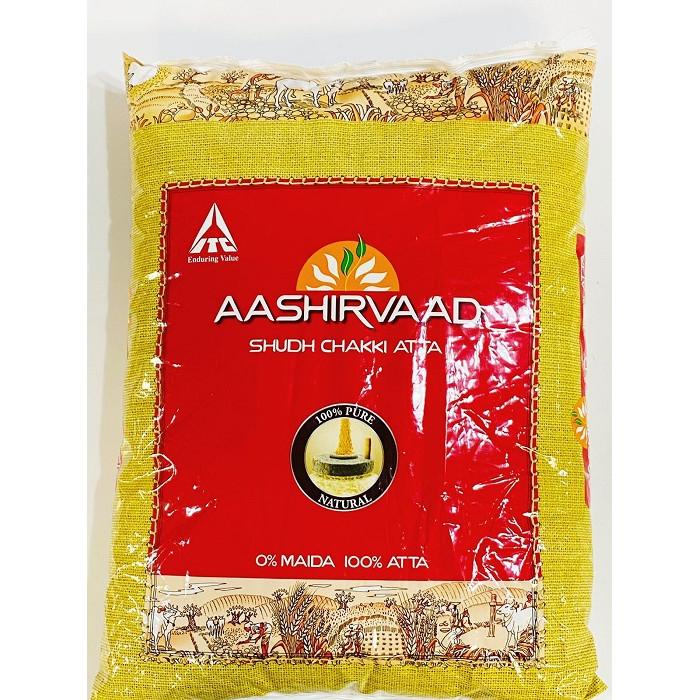 Aashirvaad Whole Wheat Atta/Flour (11 Lb)
