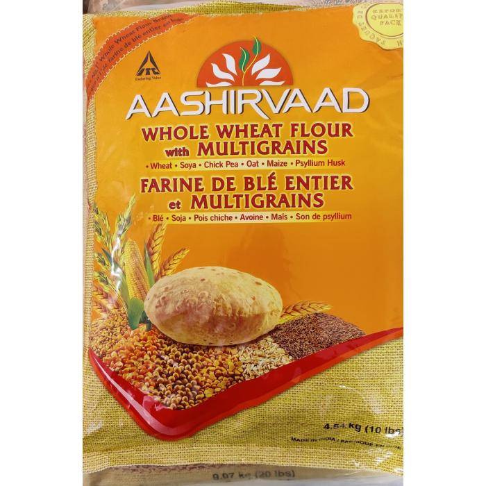 Aashirvaad Multi Grain Flour/Atta (4.5 Kg)