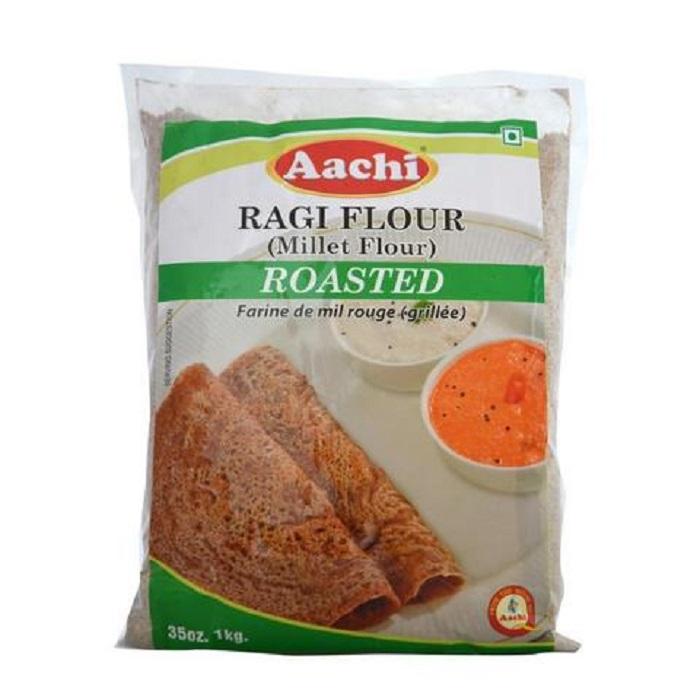 Aachi Ragi/Nachni/Millet Roasted Flour (1 Kg)