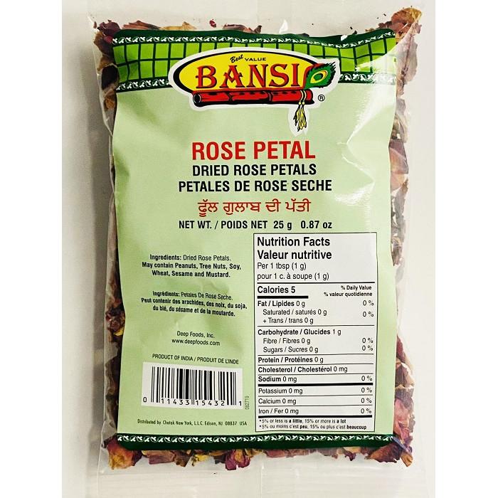 BANSI Rose Petals Dry (25 Gm)