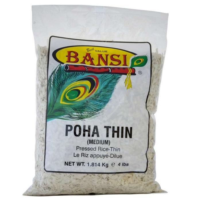 BANSI Thin Poha/Flattened Rice (4 Lb)