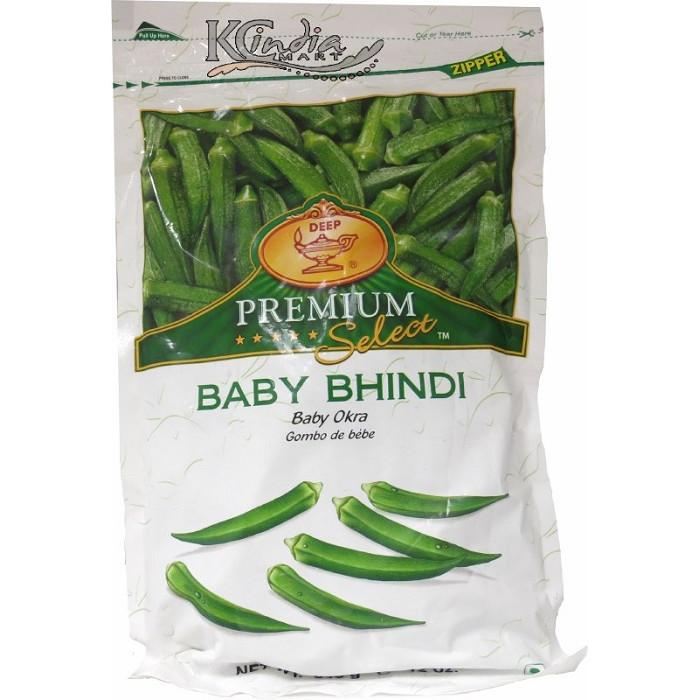 DEEP Baby Bhindi/Okra Whole (12 oz)
