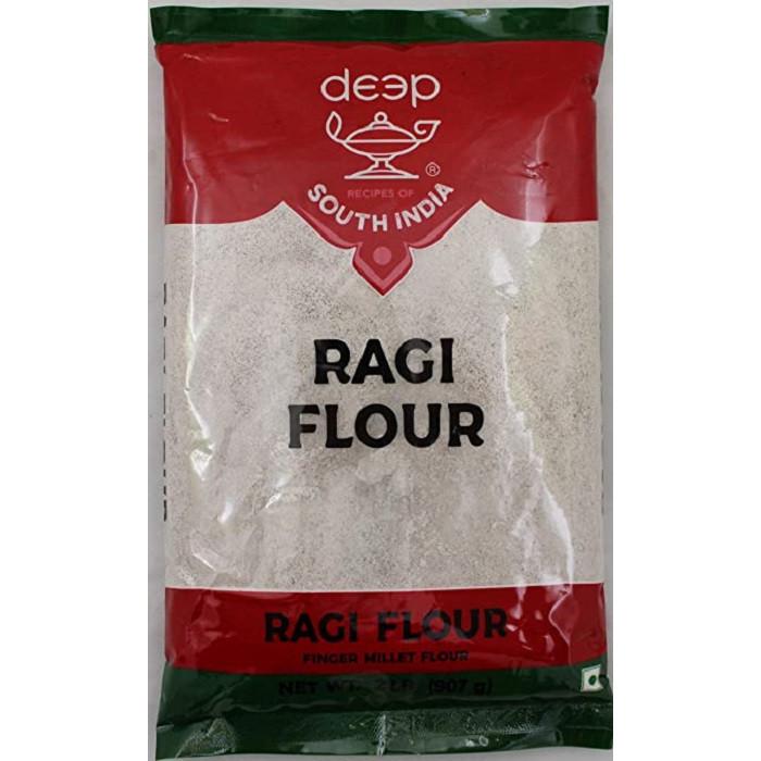 DEEP Ragi/Nachni/Finger Millet Flour (2 Lb)