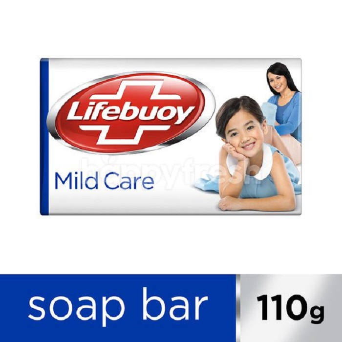LIFEBUOY Mild Care Soap (110 Gm)