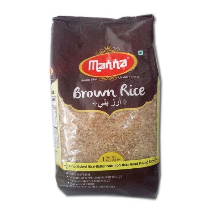 MANNA Brown Rice (1 Kg)