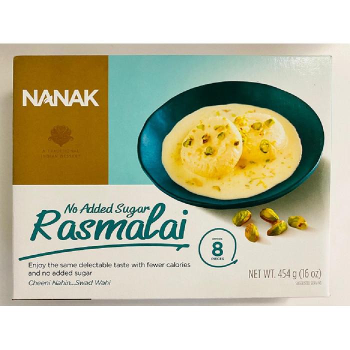 NANAK Rasmalai No Sugar/Diabetic Frozen (400 Gm)