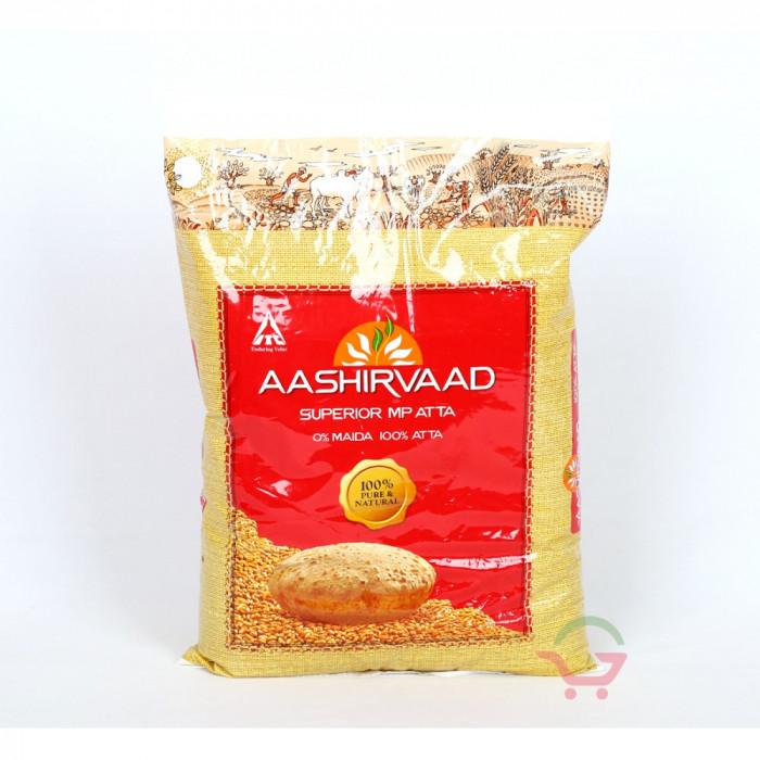 Aashirvaad Whole Wheat Atta (1 Kg)