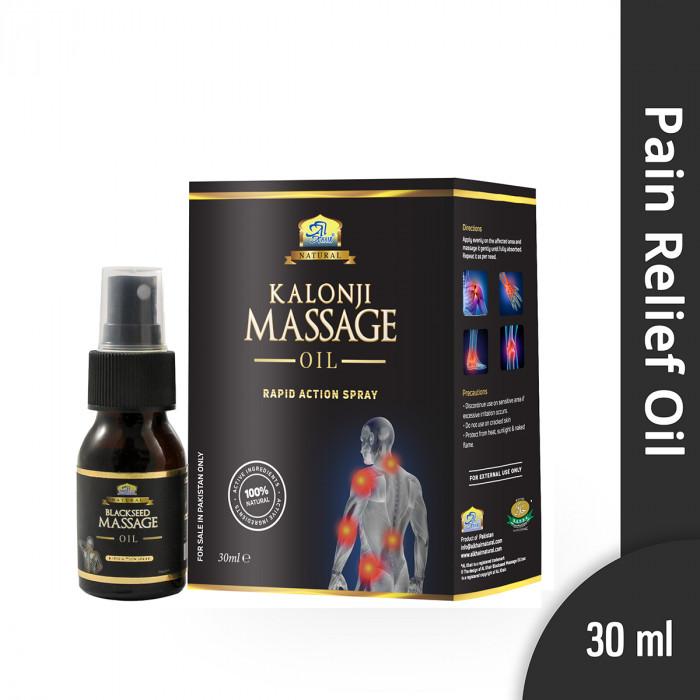 AL KHAIR Black Seed Massage Oil Spray (30 mL)