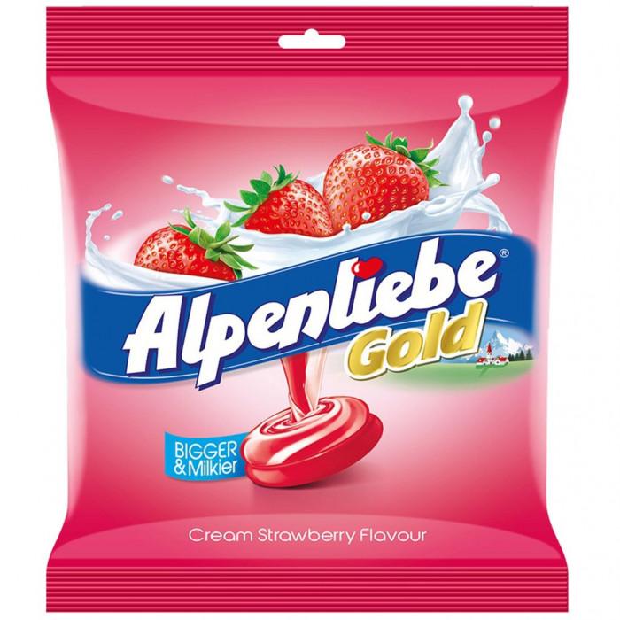 Alpenliebe Gold Strawberry & Vanilla Candy