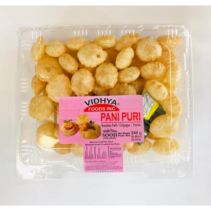 VIDHYA PaniPuri/Golgappa/Puchka/Pakodi (240 Gms)