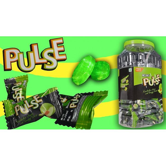 PULSE Kachha Aam Candy Jar (150 * 4 Gm)